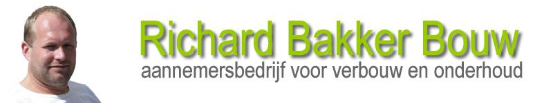 Logo van Richard Bakker Bouw, aannemersbedrijf voor verbouw- en onderhoudswerkzaamheden in Noord-Holland, gevestigd in Den Oever en Schagen